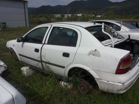 Dezmembrari Opel Astra G sedan (F69) [An 1998-2004] 1.6i