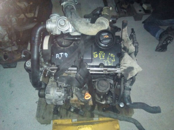 Motor complet fara anexe Vw Golf 4 1.9 tdi Pompe-duze 101cp ATD