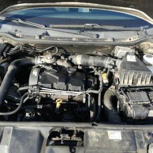 Motor complet fara anexe Skoda Fabia 1 (6Y2) 1.9 tdi AXR